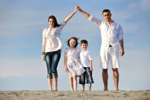 Prosperity Financial Group happy young family life insurance